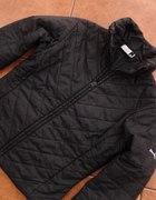 Czarna pikowana kurtka PUMA S M sportowa taliowana