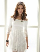 koronkowa sukienka Japan