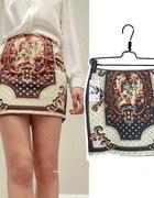 Nowa piękna Vintage mini spódnica S M L