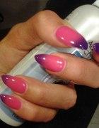Zmieniające kolor paznokcie