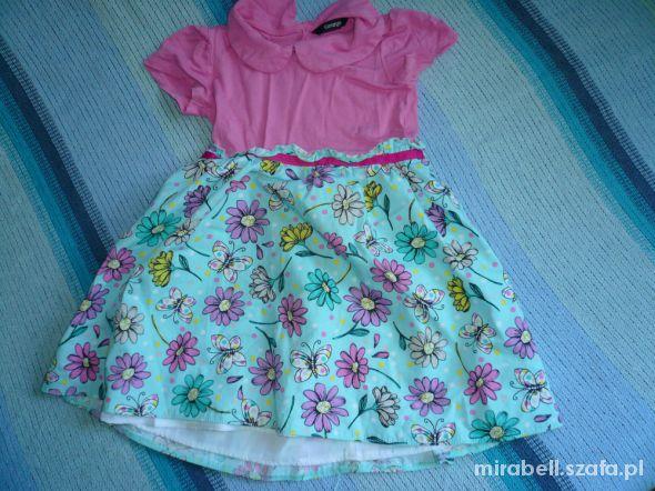 sukieneczki dla ksiezniczki dwulatki