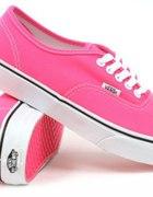 Vans Neon Pink