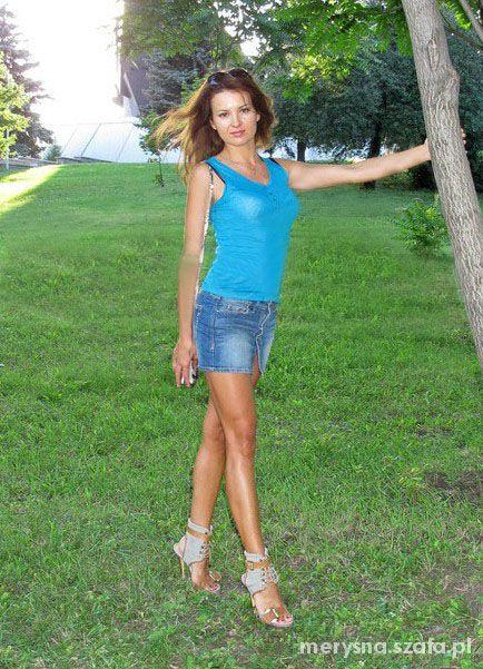 Jeansowa mini sukienka