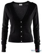 sweter czarny rozpinany kardigan