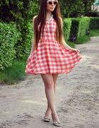 sukienka z ceraty