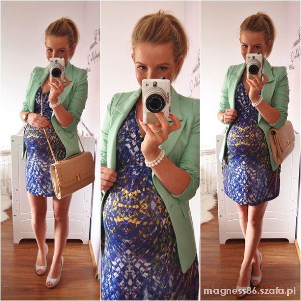 Mój styl Marynarka i sukienko tunika