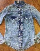 koszula jeansowa marmurek