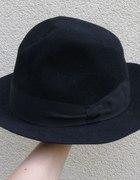 czarny flauszowy kapelusz Susquehana hat rozmiar58