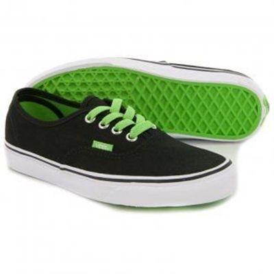 zielone vansy