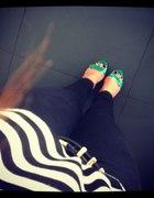 zielone sandałki Centro...