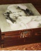 Szkatułka na biżuterię 2 retro...