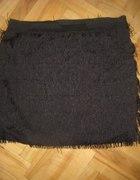krótka spódnica czarna frędzle vero moda...