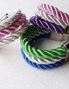 kolory lata bransoletka ze sznura skręcanego...