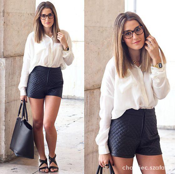Eleganckie klasyczna czerń i biel