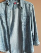 Koszula jeansowa w serduszka