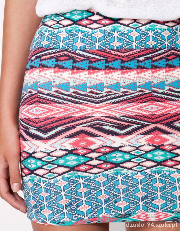 Moja kolekcja spódniczek BERSHKA