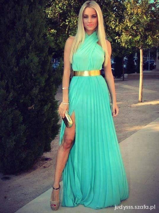 turkusowa piękność
