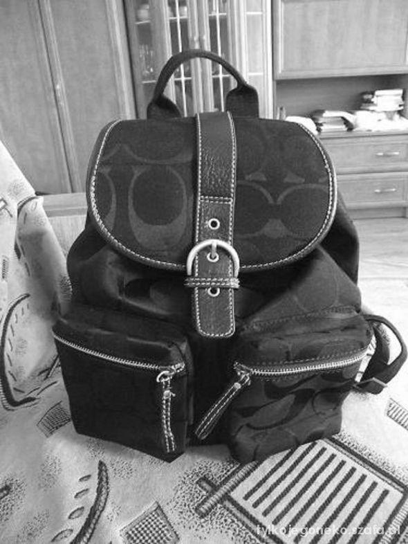 plecak vintage COACH