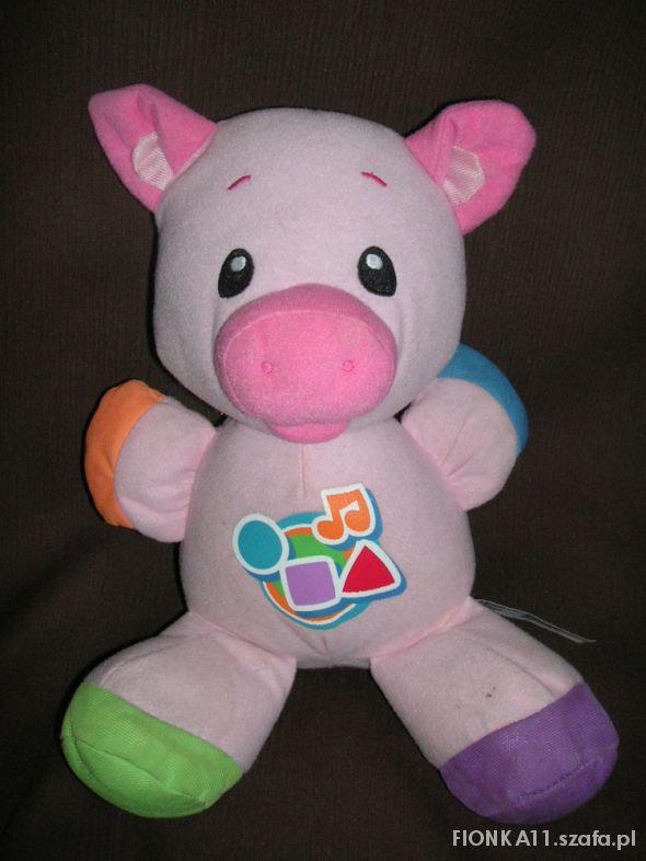 Zabawki po polsku świnka fisher price