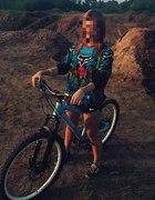 na rower...
