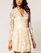 koronkowa asos sukienka
