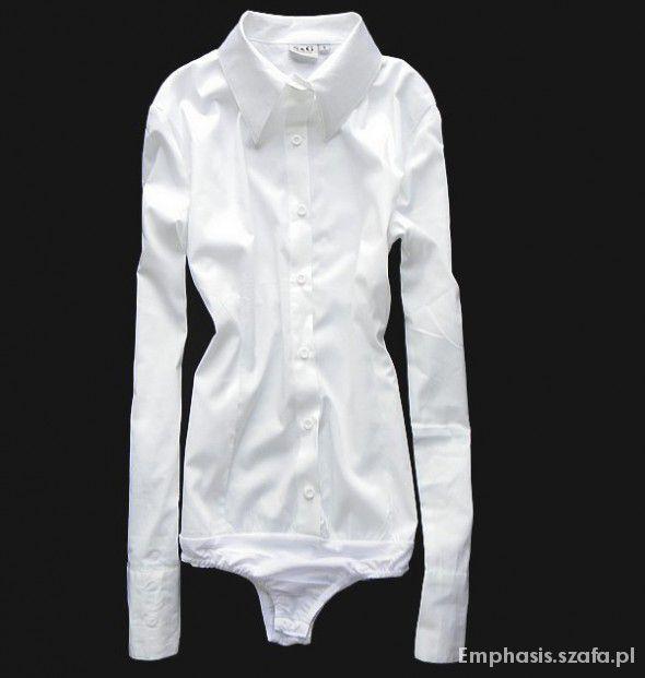 Klasyczna biała koszula S