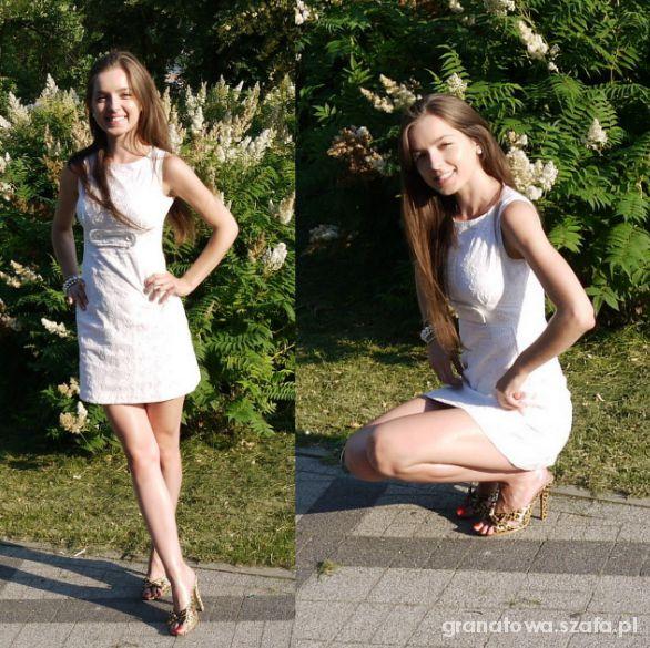 Mój styl w białej