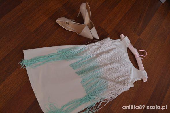 sukienka ombre