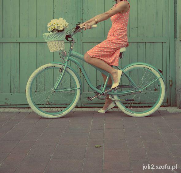 wymarzony miętowy rower