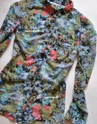 Koszula Z Kołnierzykiem Floral