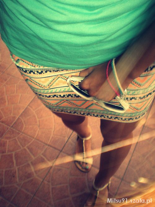 Mój styl aztec bershka