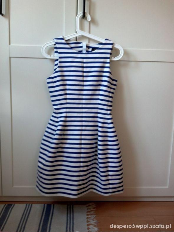 sukienka Zara tulipan marine