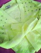 Sweterek TALLY WEIJL neon