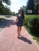 letnia sukienka w groszlki