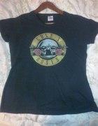 Koszulka bluzka guns n roses czarna