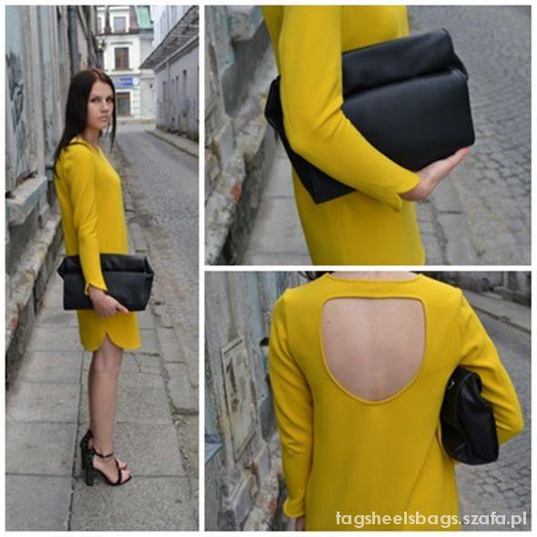 Na specjalne okazje Yellow dress