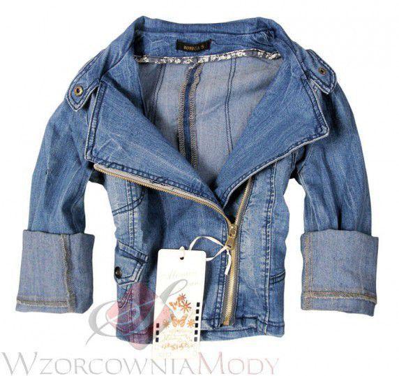 Katana jeansowa xs