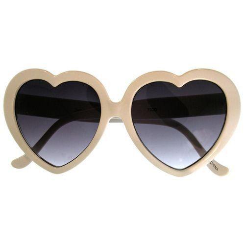 Dodatki Okulary serca