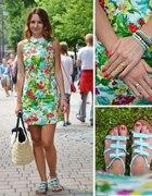 Floral dress 60s