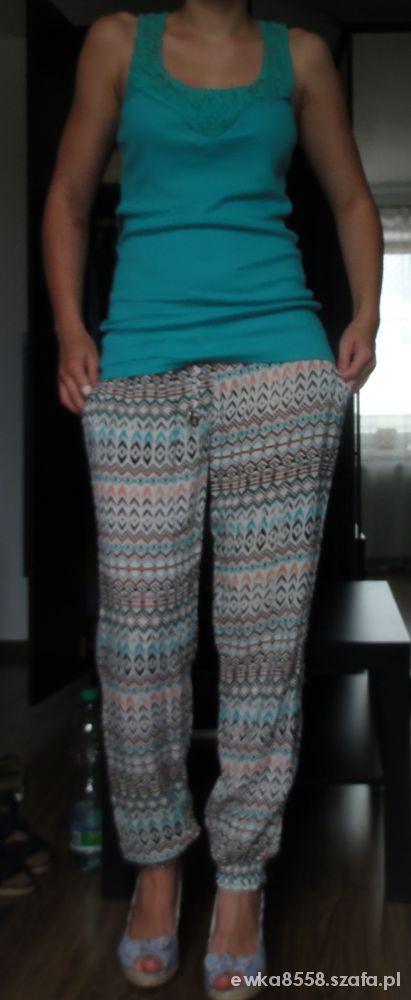 na codzień spodnie aztec plus top