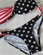 BIKINI Z FLAGA USA US BIKINI FLAG