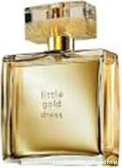 AVON LITTLE GOLD DRESS