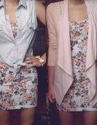 romantyczna sukienka w dwóch odsłonach