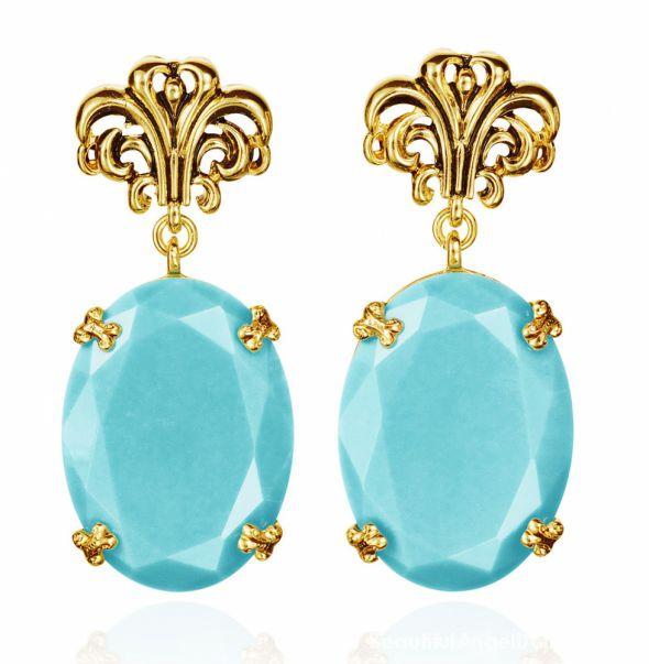 Anna dello Russo for H&M earrings