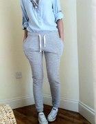 Spodnie rurki dresowe