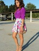 bluzka fiolet