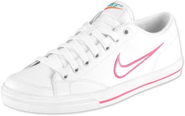 Nike capri biało różowe 37