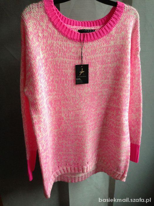 Nowy sweter neon oversize xxl xl Atmosphere 44 dlu
