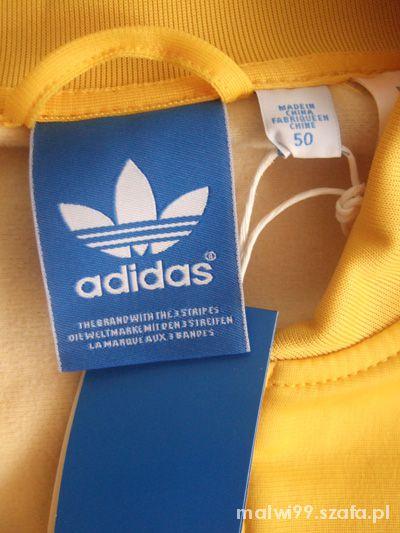 Bluza męska ADIDAS Originals M żółta w Bluzy Szafa.pl