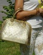 Złota torebka Jelly